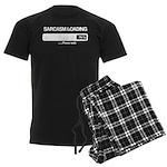 Sarcasm loading Men's Dark Pajamas