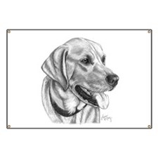 Yellow Labrador Retriever Banner