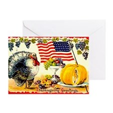 PATRIOT TURKEY - Greeting Cards (Pk of 10)