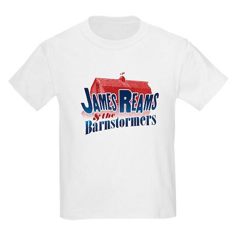 James Reams & The Barnstormers Kids Light T-Shirt