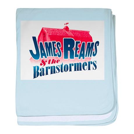 James Reams & The Barnstormers baby blanket