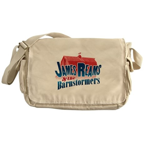 James Reams & The Barnstormers Messenger Bag