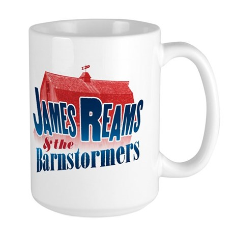 James Reams & The Barnstormers Large Mug
