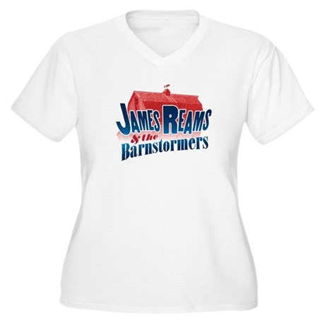 James Reams & The Barnstormers Women's Plus Size V