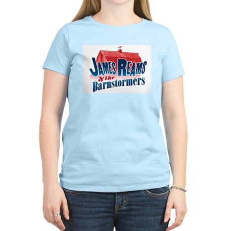 James Reams & The Barnstormers Women's Light T-Shi