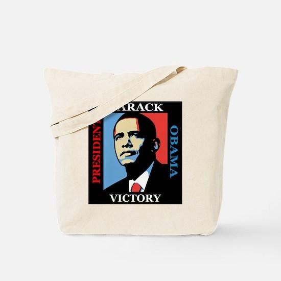 Barack Obama Victory Tote Bag