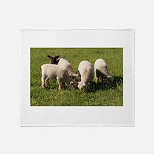 Ewe-niquely Me! Throw Blanket