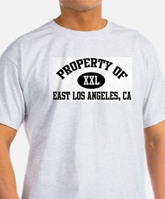 Property of EAST LOS ANGELES Ash Grey T-Shirt