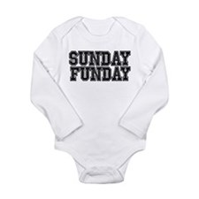 Funny Running With Scissors Long Sleeve Infant Bod