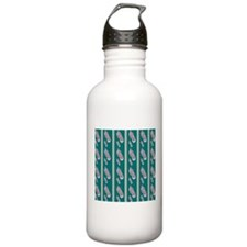Peacock Stripes Water Bottle