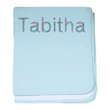 Tabitha Paper Clips baby blanket