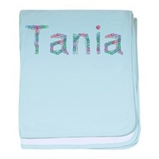 Tania Paper Clips baby blanket