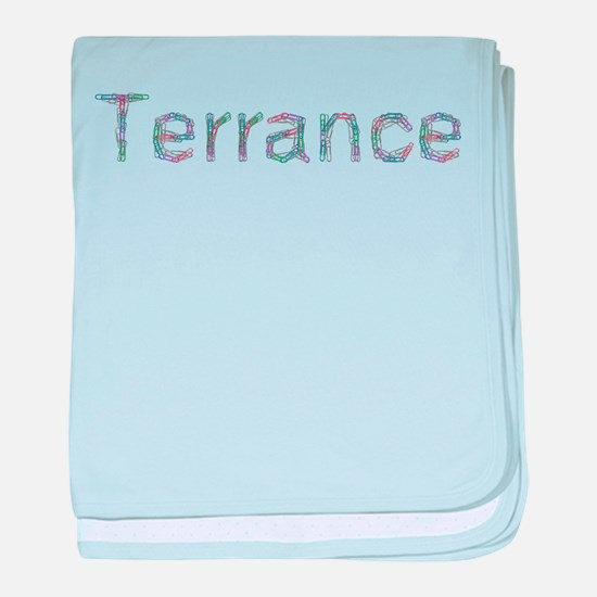 Terrance Paper Clips baby blanket
