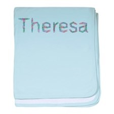 Theresa Paper Clips baby blanket