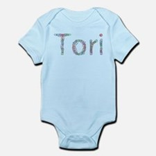 Tori Paper Clips Infant Bodysuit