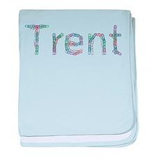 Trent Paper Clips baby blanket
