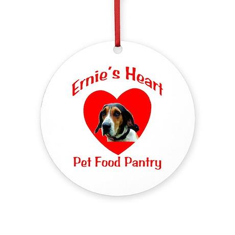Ernie's Heart Logo Ornament (Round)