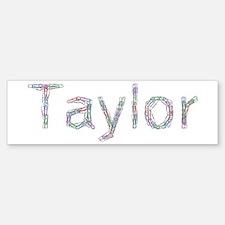 Taylor Paper Clips Bumper Bumper Bumper Sticker
