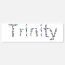 Trinity Paper Clips Bumper Bumper Bumper Sticker