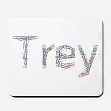 Trey Paper Clips Mousepad