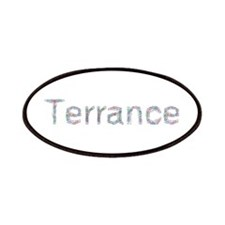 Terrance Paper Clips Patch