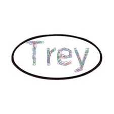 Trey Paper Clips Patch