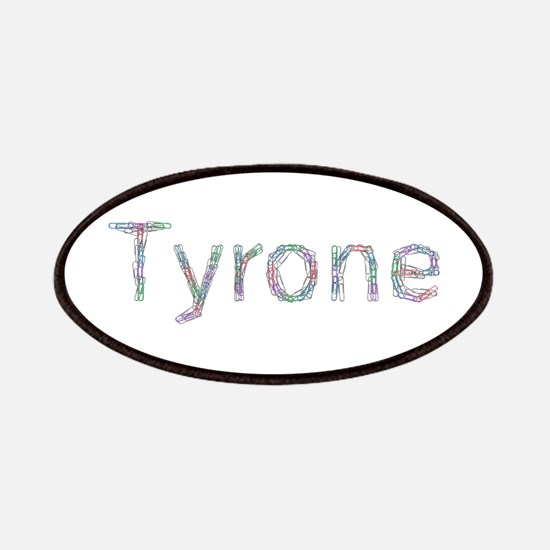 Tyrone Paper Clips Patch