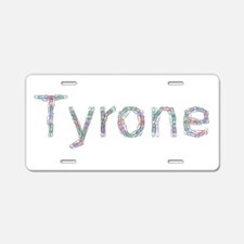 Tyrone Paper Clips Aluminum License Plate