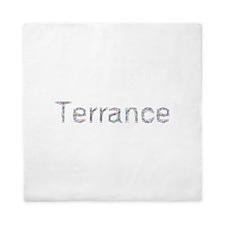 Terrance Paper Clips Queen Duvet