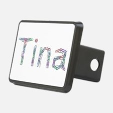 Tina Paper Clips Hitch Cover