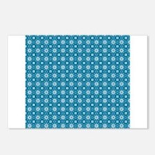 Circles and Squares Mod Print Postcards (Package o