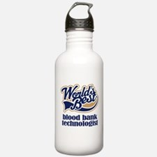Blood Bank Technologist (Worlds Best) Water Bottle