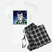 Christmas Snowy Owl Pajamas