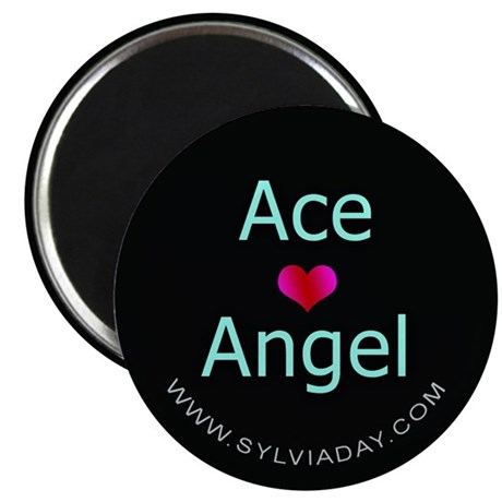 "Ace [heart] Angel 2.25"" Magnet (100 pack)"