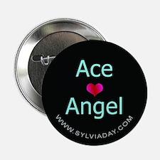 "Ace [heart] Angel 2.25"" Button"