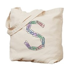 S Paper Clips Tote Bag