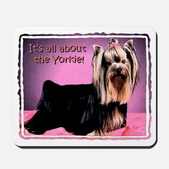 Yorkshire Terrier Yorkie Pop Art Fres Mousepad