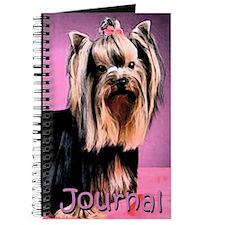 Yorkshire Terrier Yorkie Pop Art Fres Journal