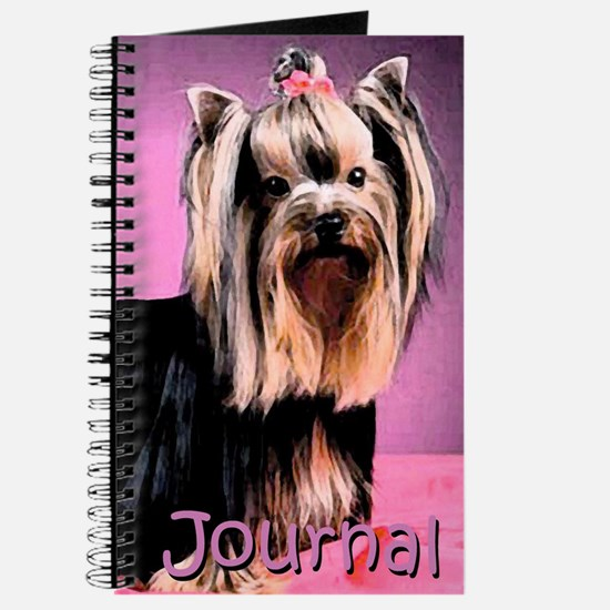 Yorkshire Terrier Yorkie Pop Art Fres Journal