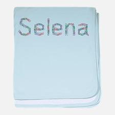 Selena Paper Clips baby blanket