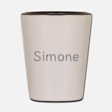 Simone Paper Clips Shot Glass