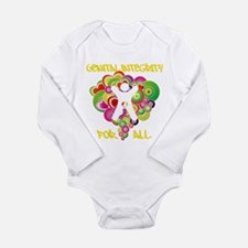 Genital Integrity for All Long Sleeve Infant Bodys