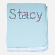 Stacy Paper Clips baby blanket