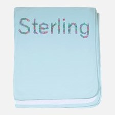 Sterling Paper Clips baby blanket