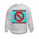 Dress Codes Suck! Kids Sweatshirt