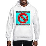 Dress Codes Suck! Hooded Sweatshirt