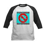 Dress Codes Suck! Kids Baseball Jersey