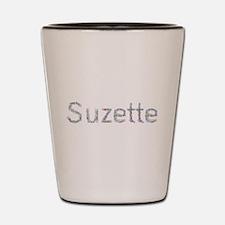Suzette Paper Clips Shot Glass