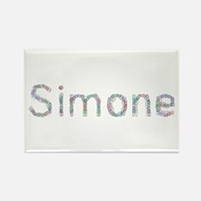 Simone Paper Clips Rectangle Magnet