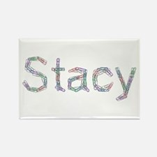 Stacy Paper Clips Rectangle Magnet